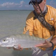 Double digit bonefish charter with Capt. Shawn Riley